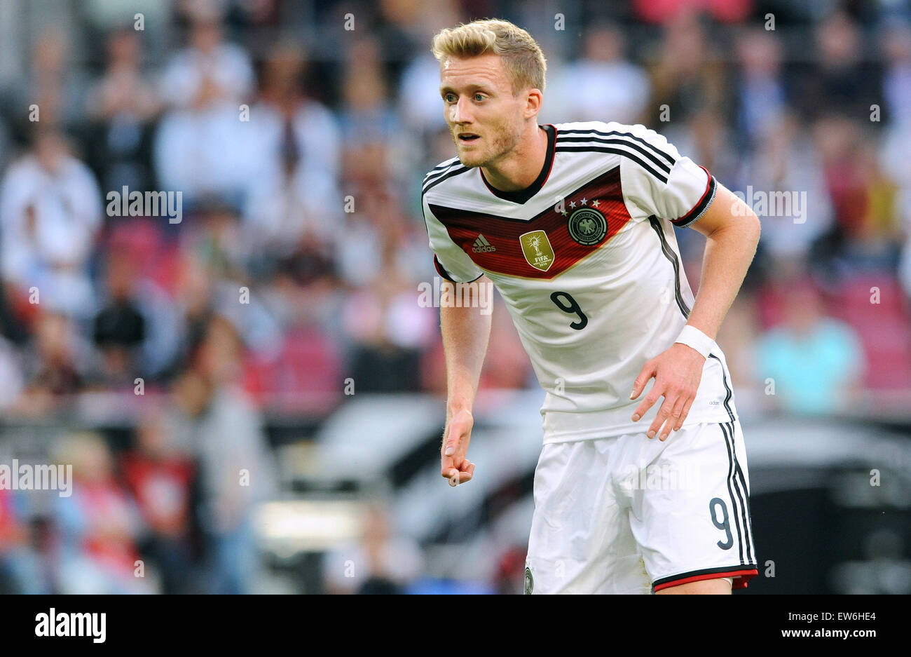 Friendlymatch at Rhein Energie Stadion Cologne: Germany vs USA: Andre Schuerrle (GER) - Stock Image