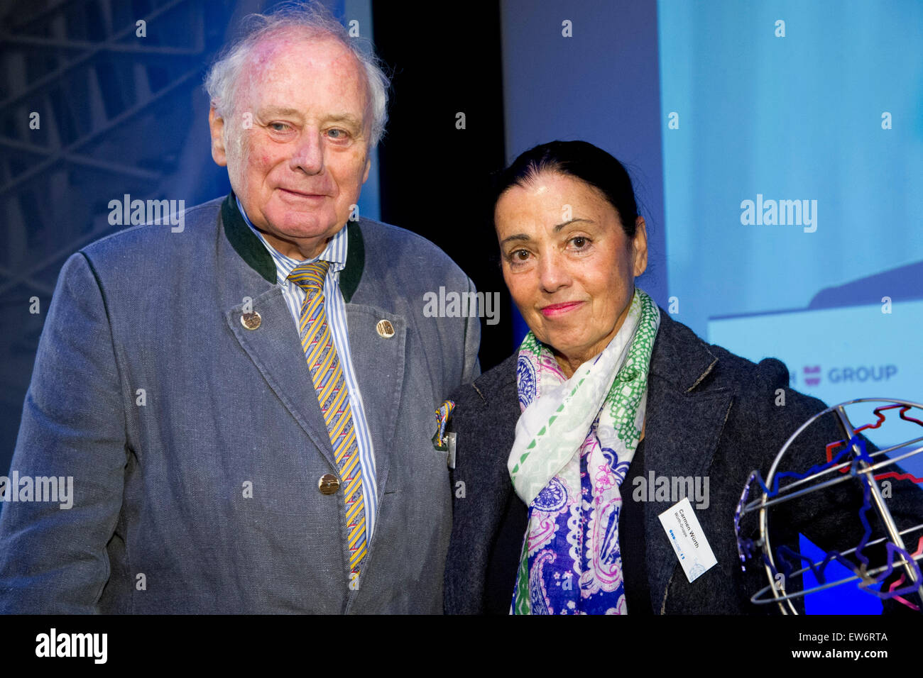 Prof. Dr. Reinhold WUERTH, WÃ_rth, Unternehmer, Vorsitzender des Stiftungsaufsichtsrats der Wuerth-Gruppe, - Stock Image