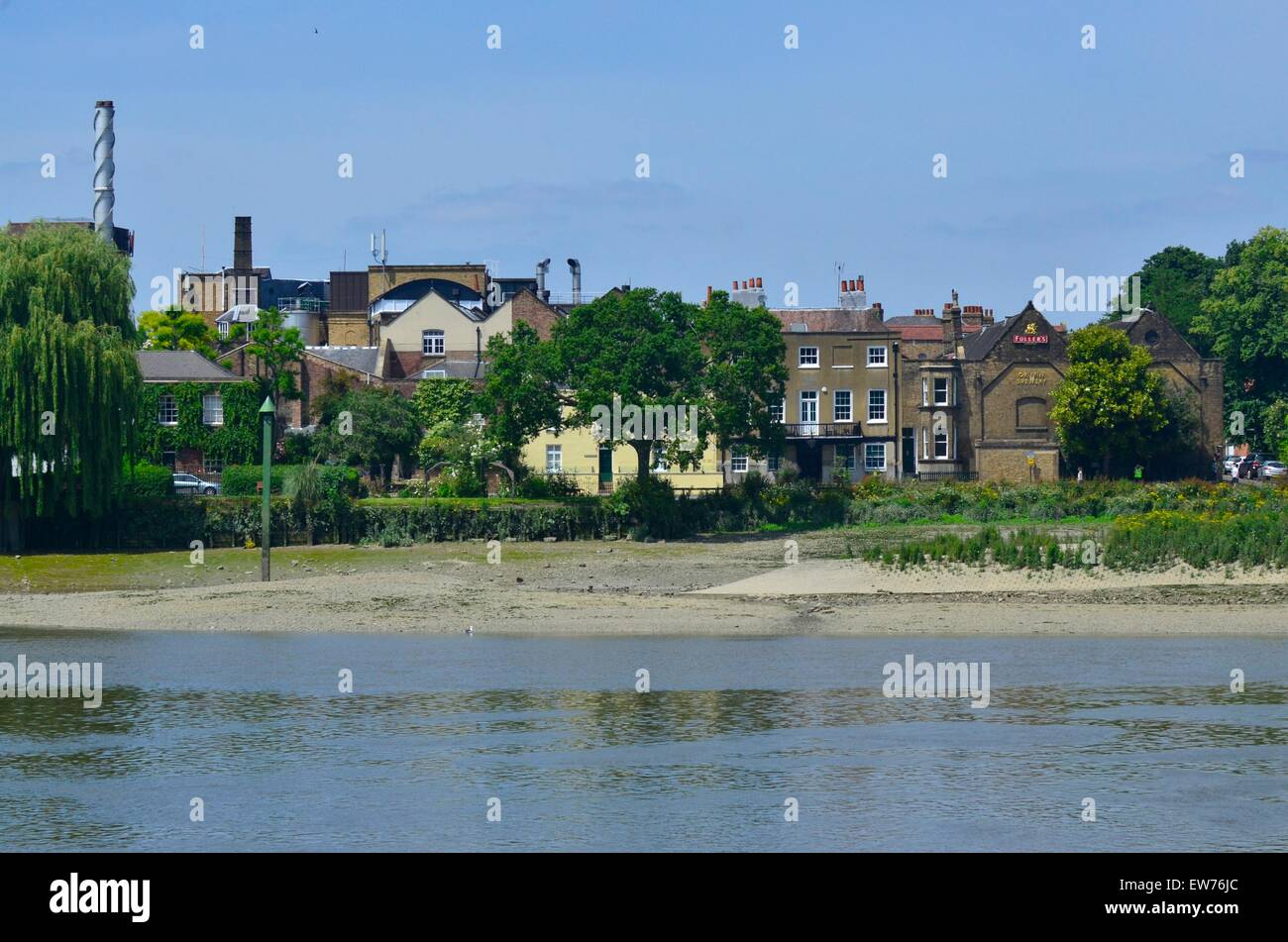 Fullers Brewery, Chiswick, London, England, UK - Stock Image