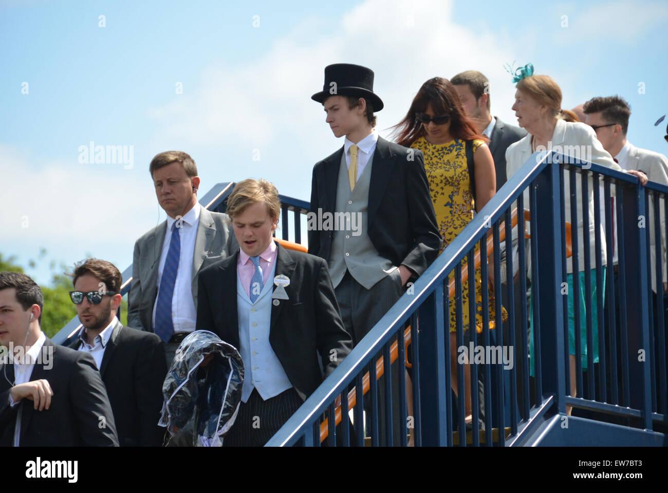 Ascot, Berkshire, UK. 19th June 2015. The annual Royal Ascot Races Credit:  Matthew Chattle/Alamy Live News Stock Photo