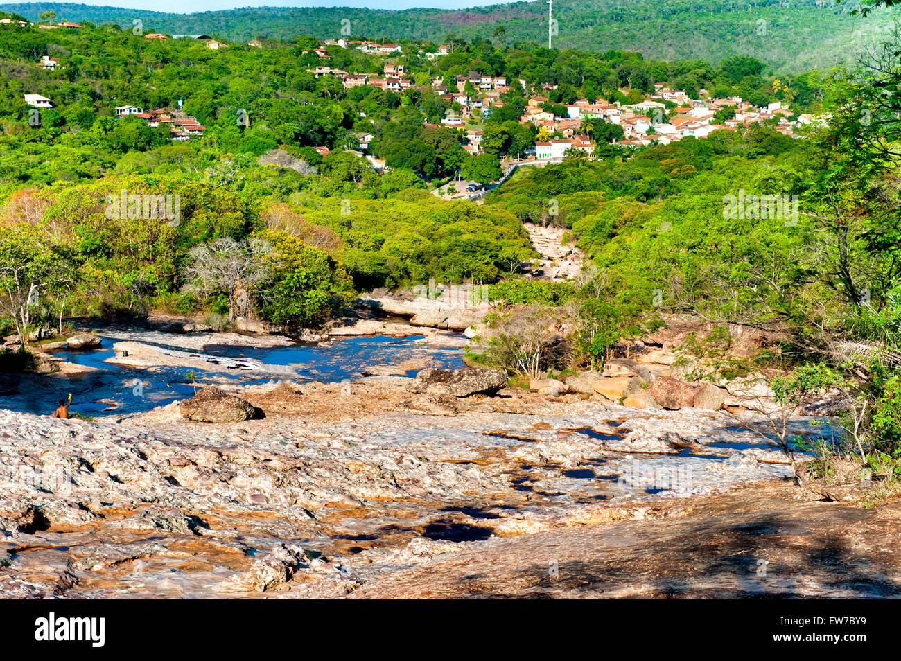 Lencois City, Chapada Diamantina, Brazil - Stock Image