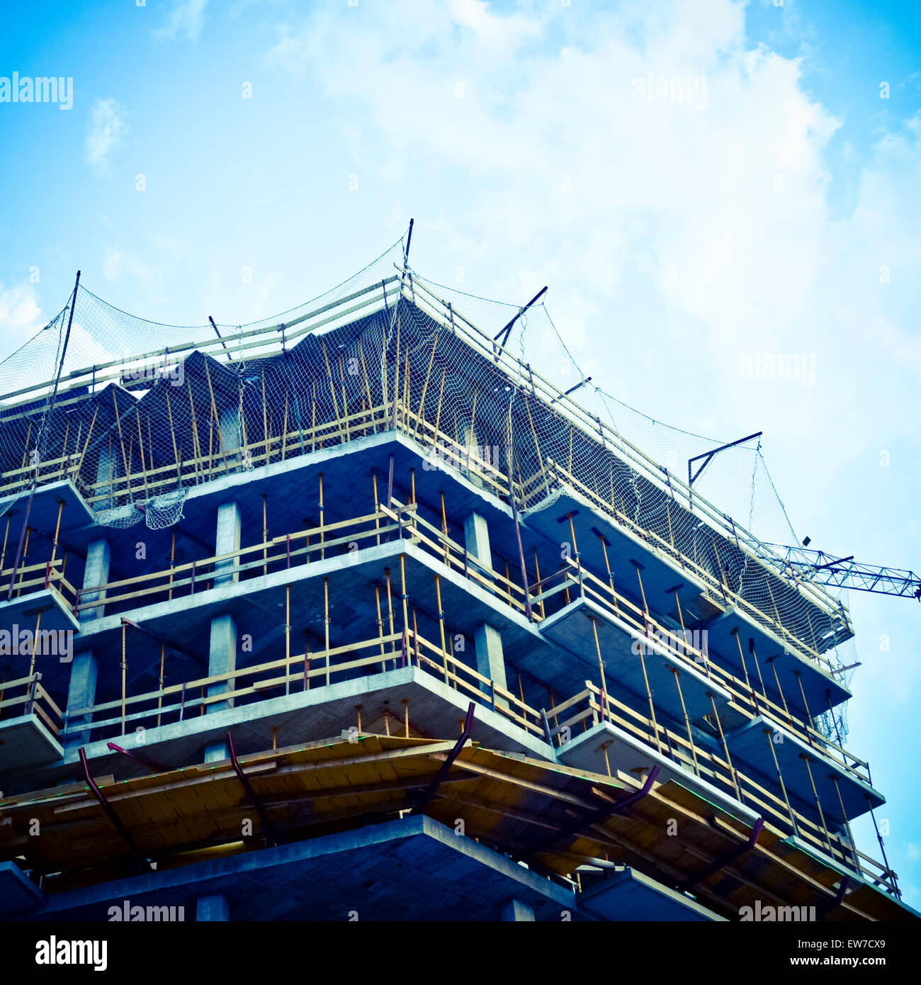 Building under construction. Stock Photo