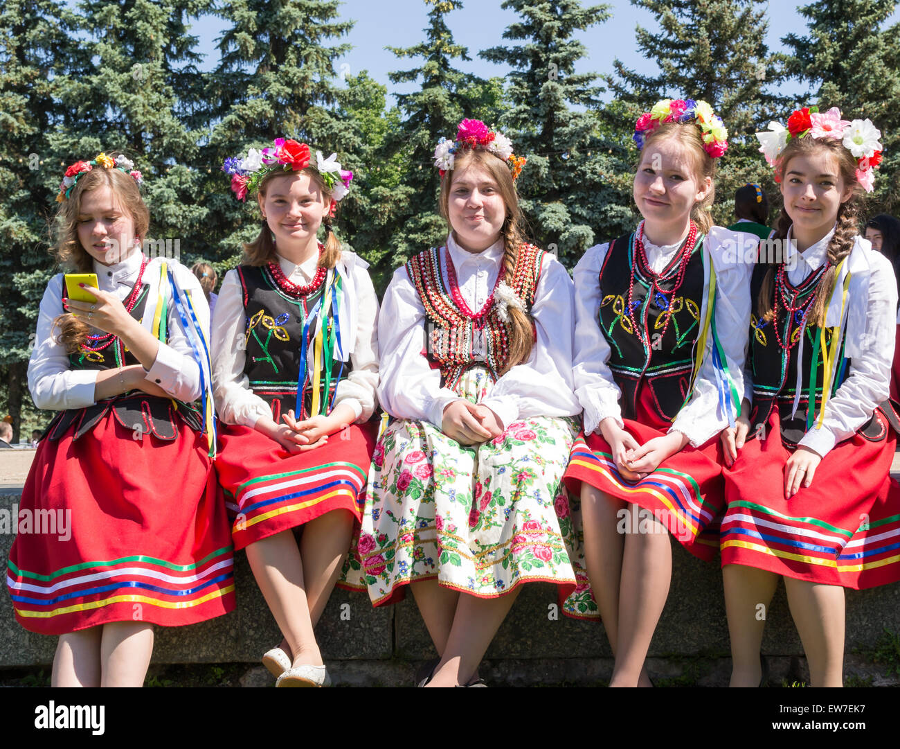 Folk holidays in Russia
