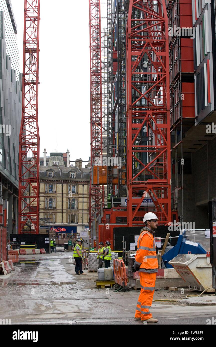 Workmen High Visibility Jackets Stock Photos Amp Workmen