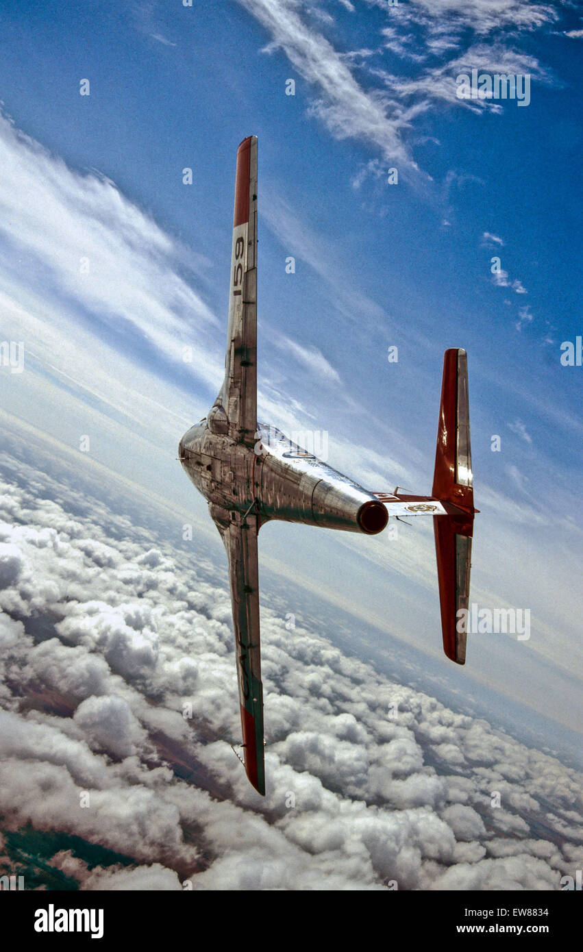Sept. 30, 2013 - Canadair CL-41 Tutor.Sometimes an aircraft company needs to take a chance. Such is the case with - Stock Image