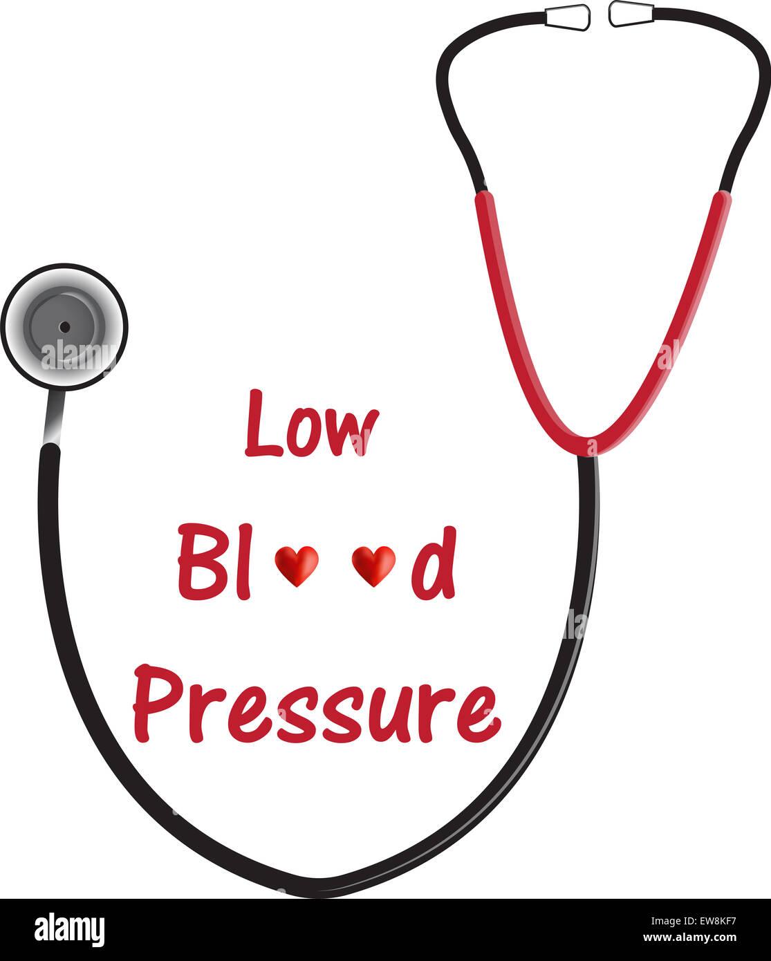 Low Blood Pressure - Stock Image