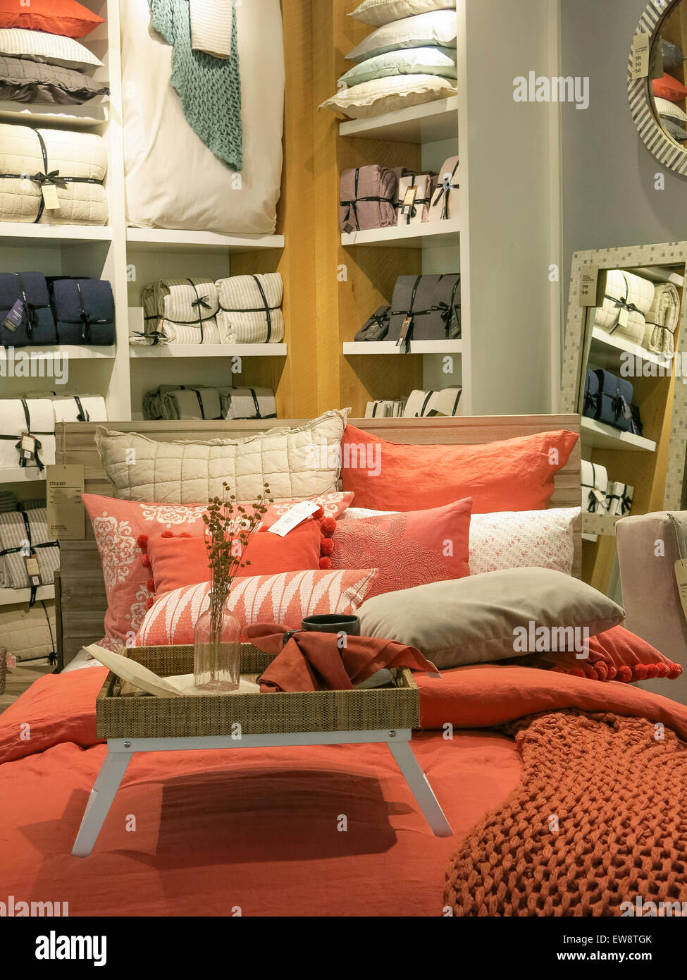 West Elm Home Furnishings Store, NYC, USA