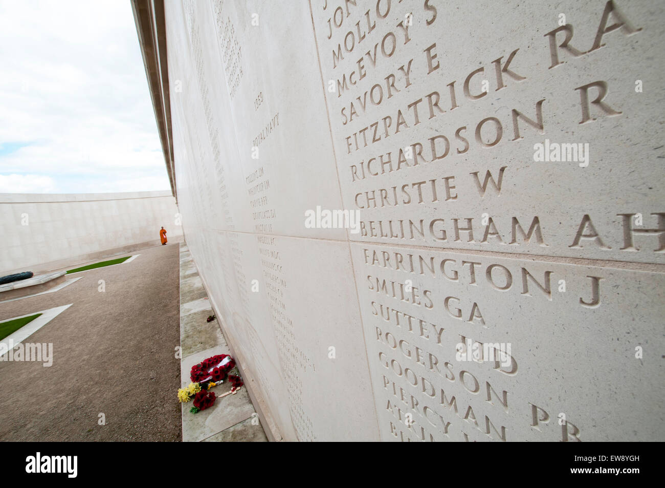 Armed Forces Memorial at The National Memorial Arobretum, near Lichfield in Staffordshire England UK - Stock Image