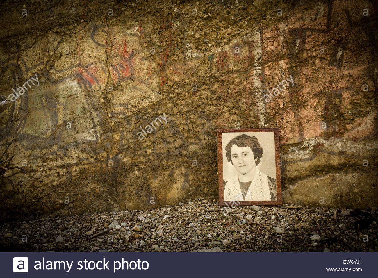Remembrance of things past. In search of lost time - Stock Image