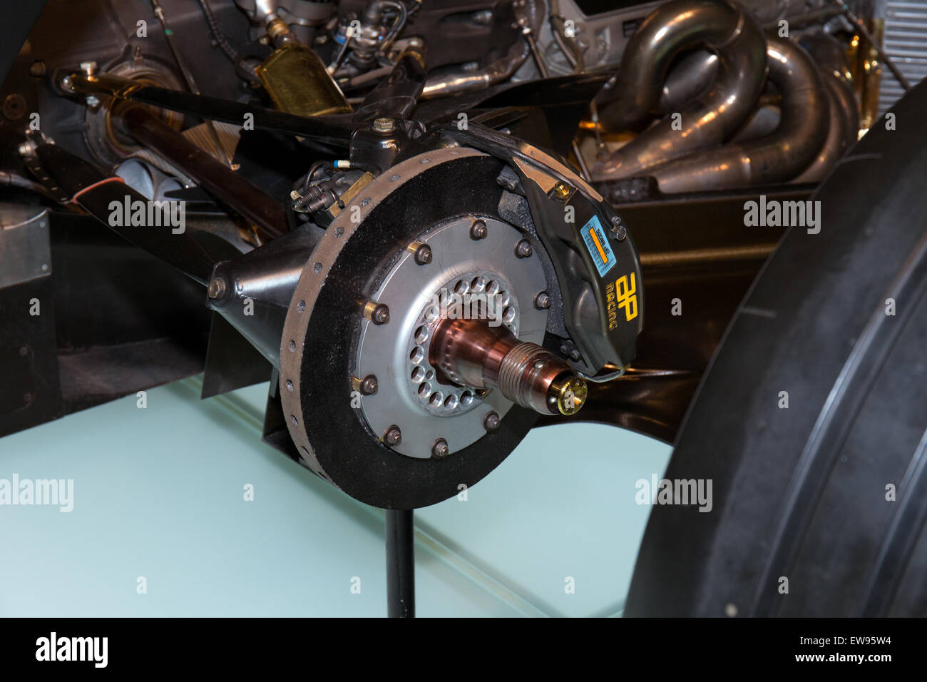 Rear Brake Stock Photos Images Alamy Exploded Diagram Of Drum Mclaren Mp4 14 View Mercedes Benz Museum
