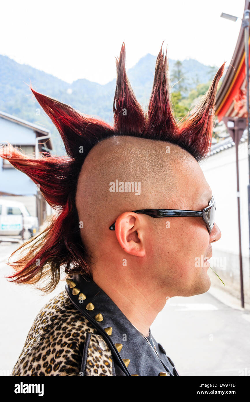 Mohican Hair Stock Photos Amp Mohican Hair Stock Images Alamy