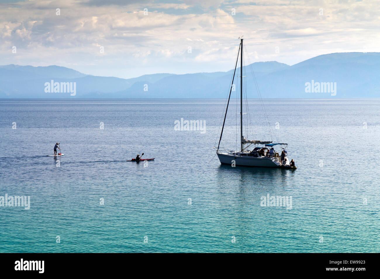 Lake Tahoe Water Sport - Stock Image