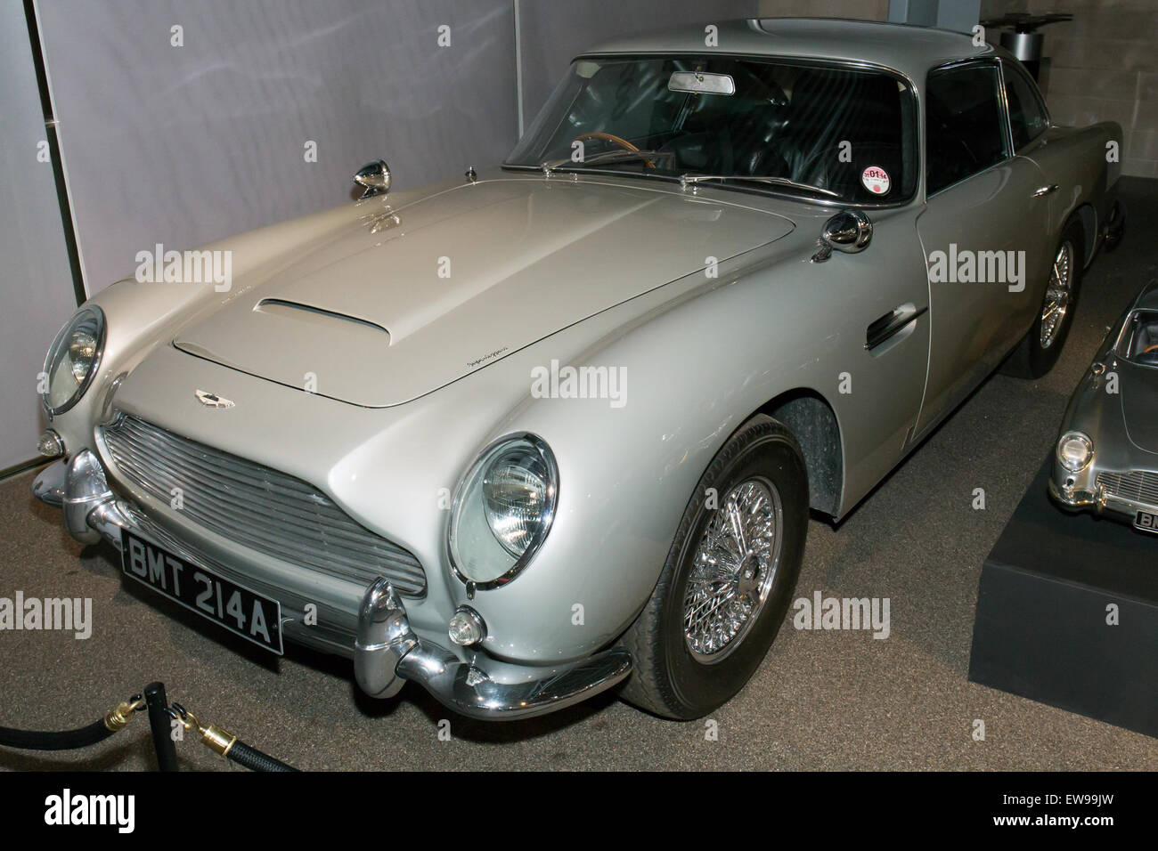 aston martin db5 (skyfall) front-left national motor museum