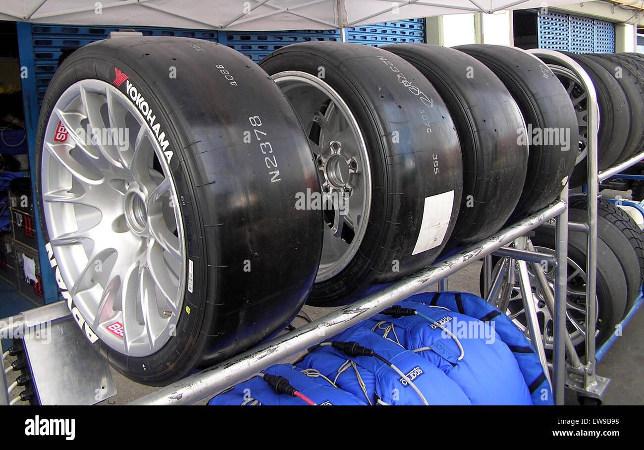 Yokohama ADVAN Tires WTCC 2006 - Stock Image