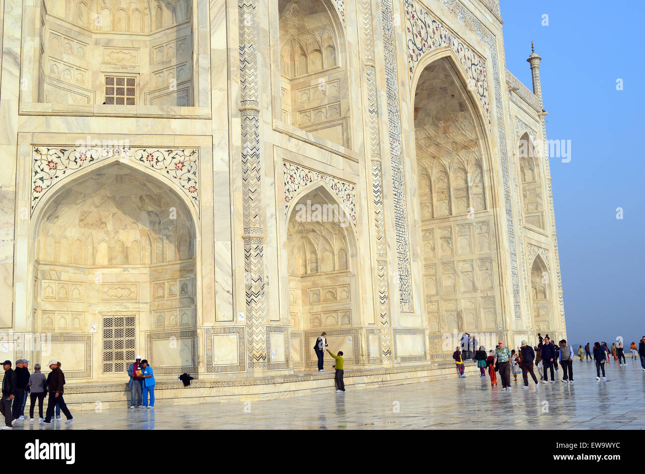 Taj Mahal Closeup Stock Photos & Taj Mahal Closeup Stock Images - Alamy