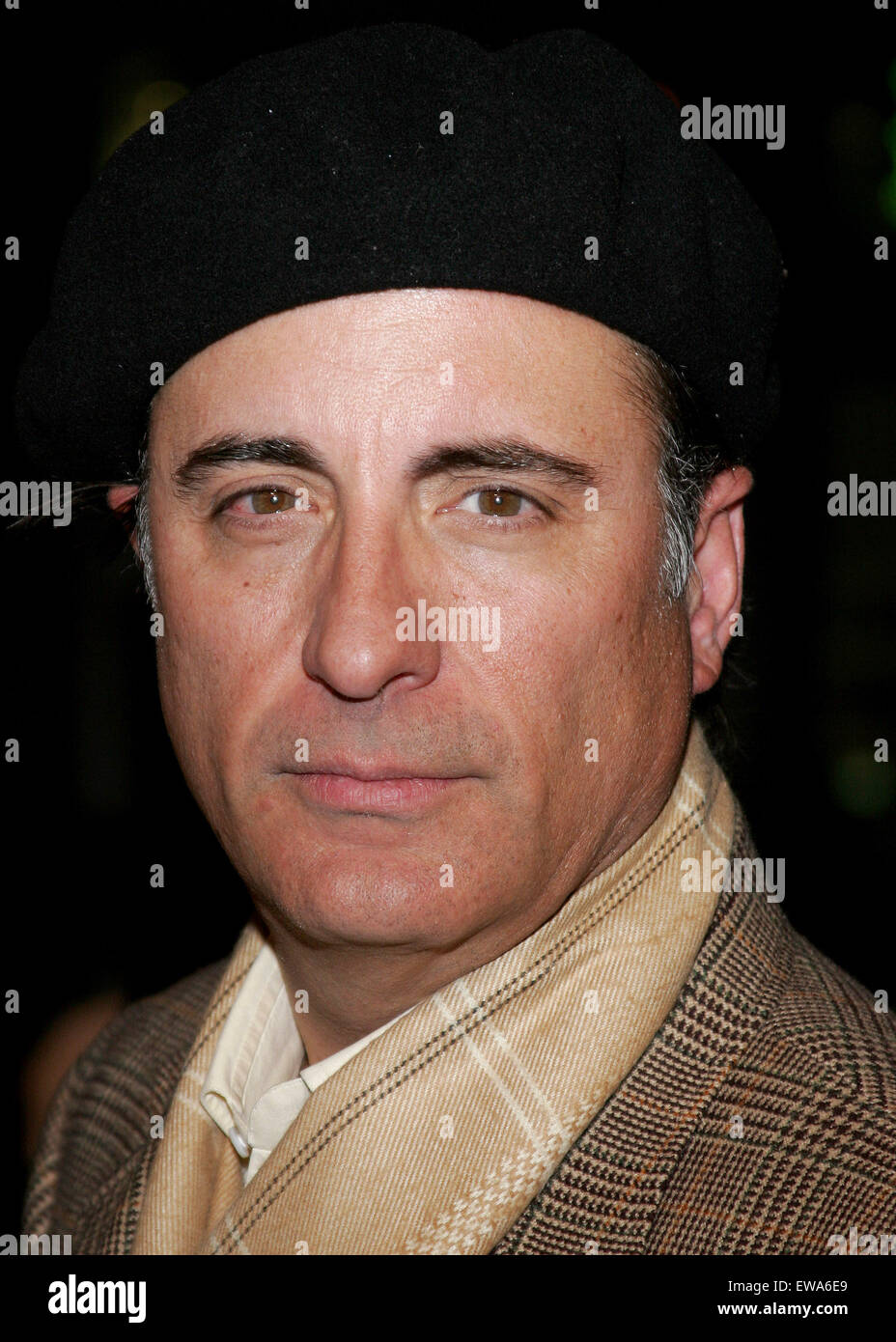 Andy Garcia attends the World Premiere of 'Smokin' Aces' held at the Grauman's Chinese Theater in - Stock Image