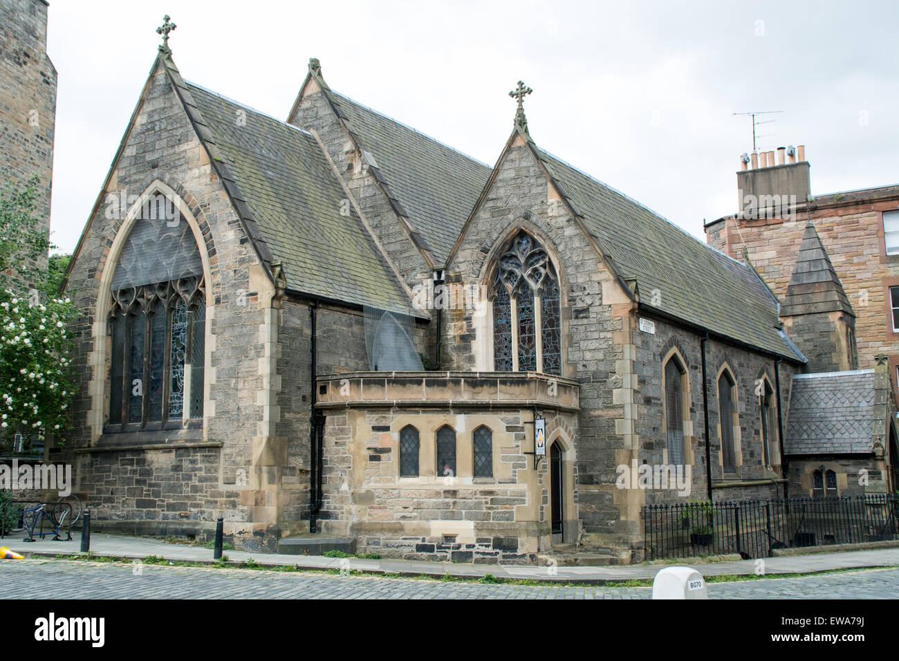 The Scottish Episcopal church building along Saint Stephen's