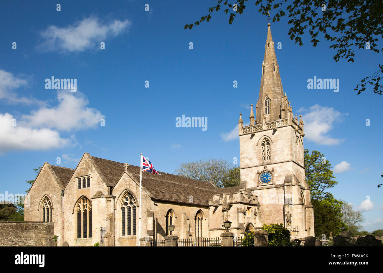 St. Bartholomew's church, Corsham, Wiltshire, England, UK Stock Photo