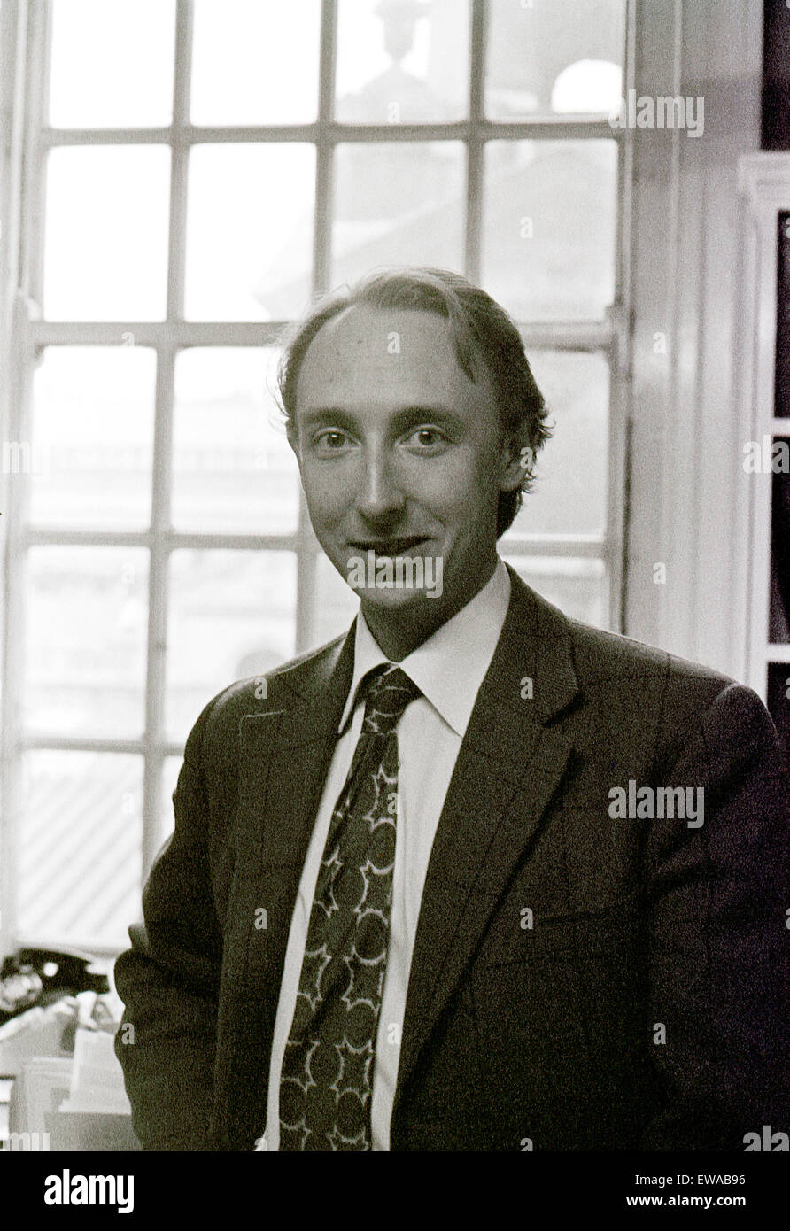 Architectural historian and author Marcus Binney CBE in 1975 now President of SAVE Britain's Heritage, London - Stock Image