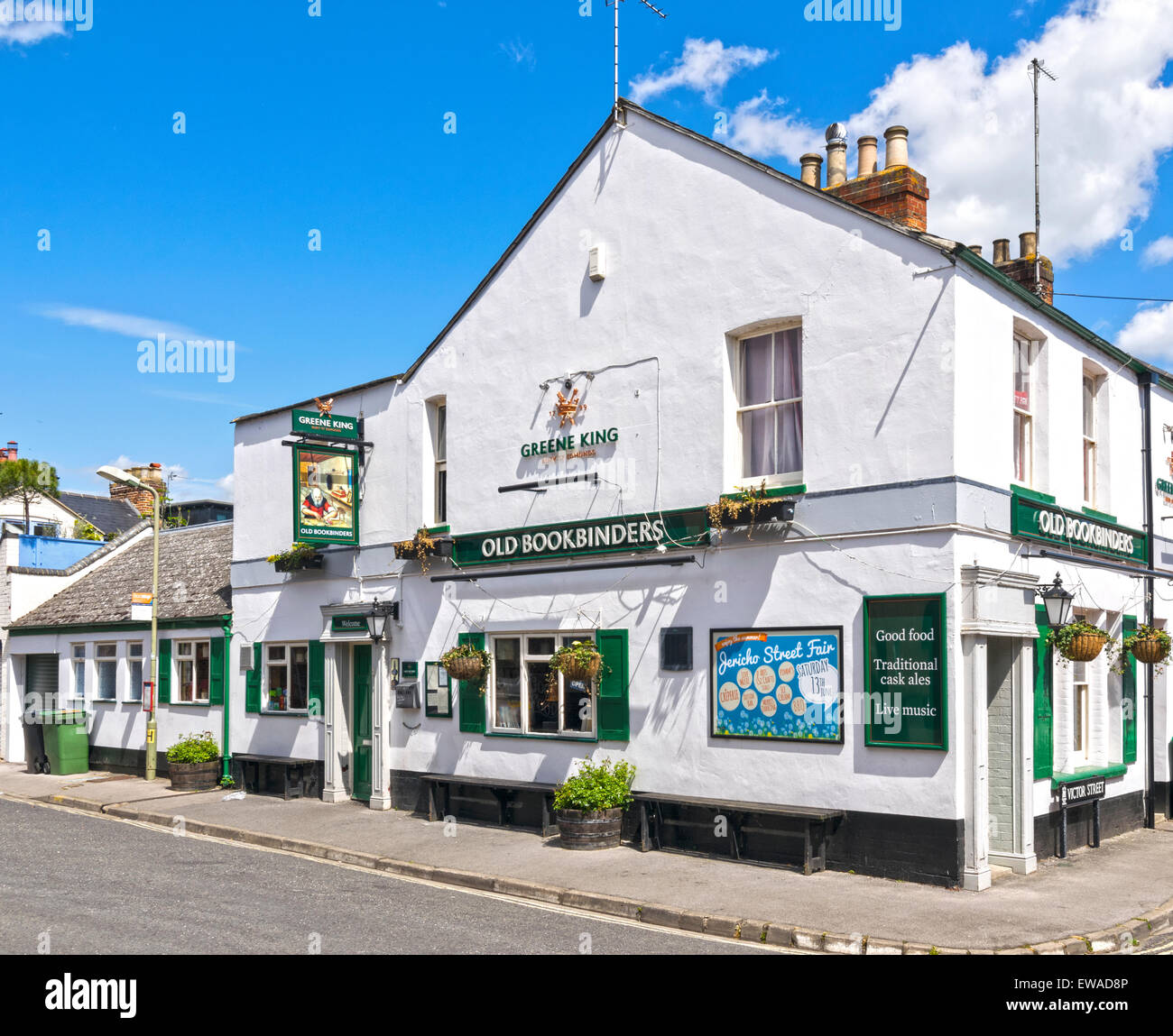 OXFORD CITY JERICHO THE OLD BOOKBINDERS INN - Stock Image