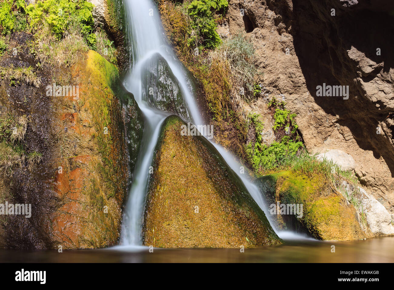 Darwin Falls in Death Valley National Park in California, USA - Stock Image