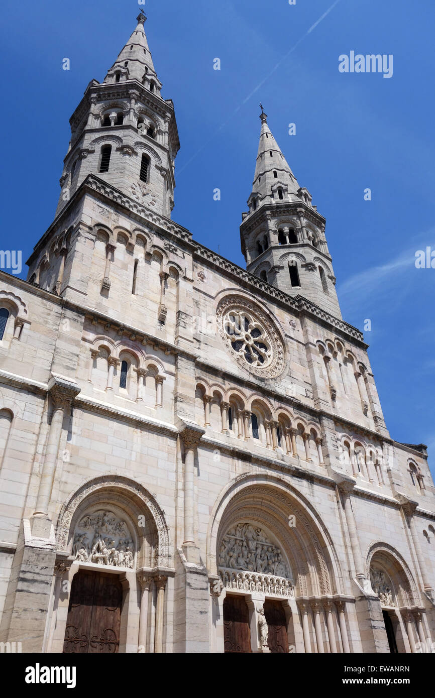 St Pierre church Macon Burgundy France - Stock Image