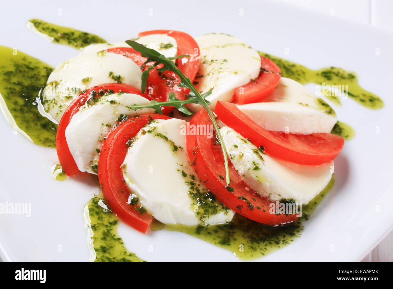 Caprese Salad Recipe Pesto