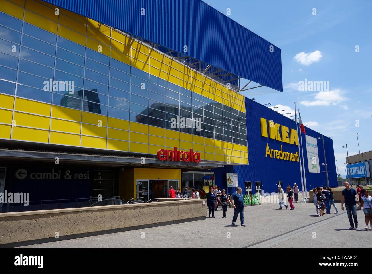 Ikea Store At Porta Di Roma Rome Italy Stock Photo 84445792 Alamy