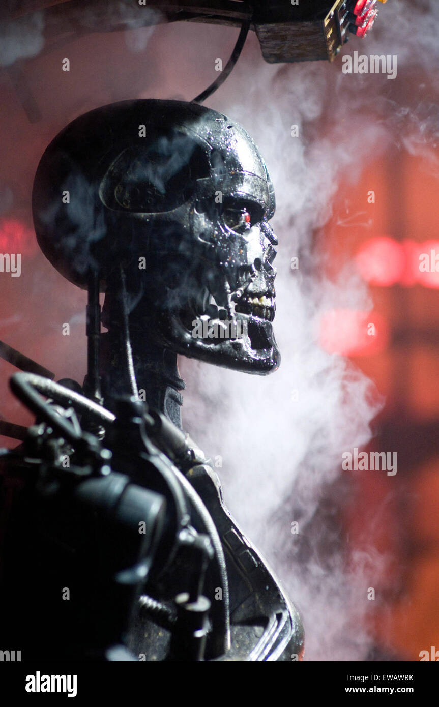 Terminator salvation also known as terminator 4 salvation is a terminator salvation also known as terminator 4 salvation is a 2009 american science fiction action film directed by mcg and starring christian bale and thecheapjerseys Image collections