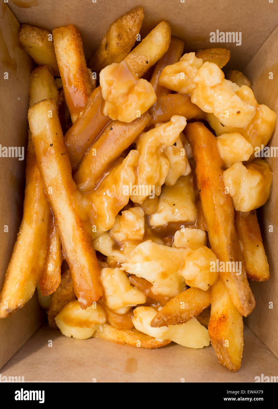 Canada Poutine- French Fries in Gravy and Cheese Curds ...   Canadian Cheese Fries And Gravy