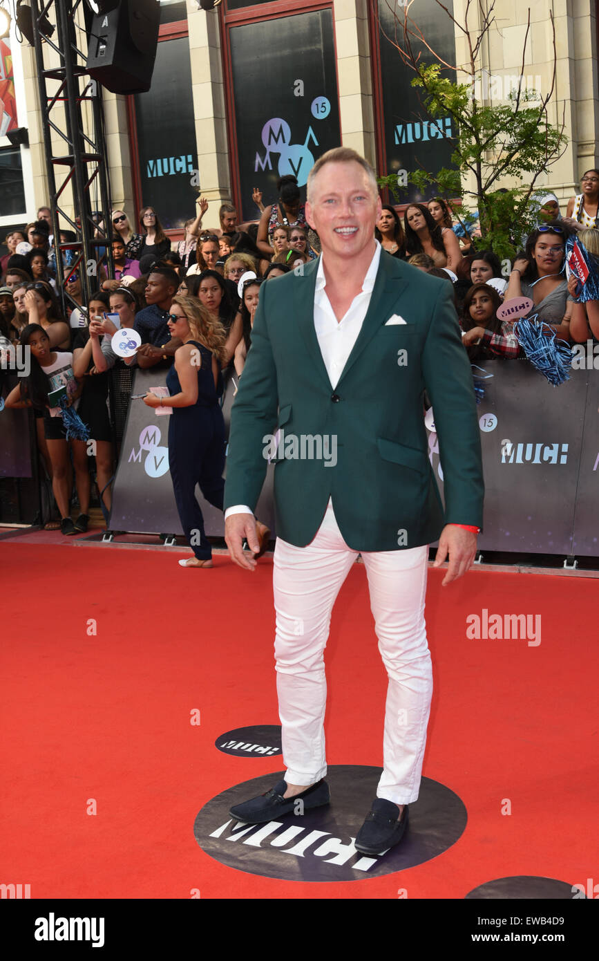 Toronto Ontario Canada 21st June 2015 Darren Dutchyshen Arrives At The 2015 Muchmusic Video Awards At
