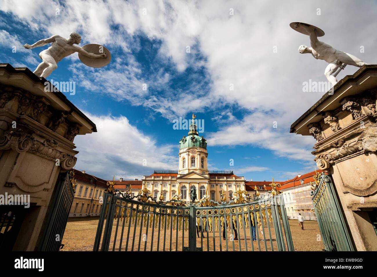 Charlottenburg Palace, Berlin, Germany Stock Photo