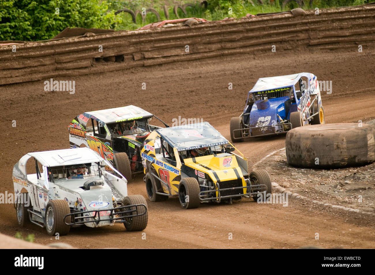 modified stock car cars race racing races dirt oval track