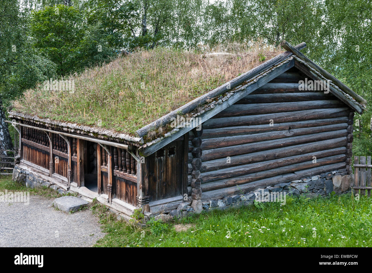 Lillehammer, Norway  The Maihaugen open-air museum of
