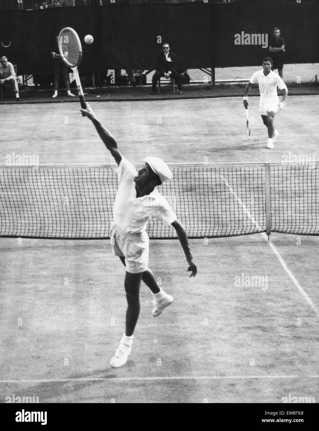 ken rosewall,1955 - Stock Image