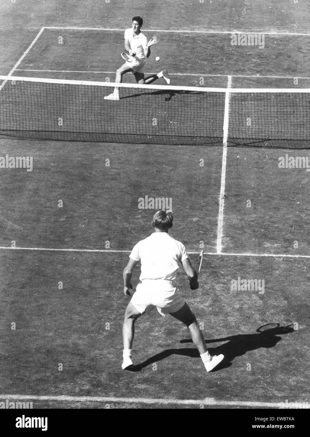 ken rosewall,1956 - Stock Image