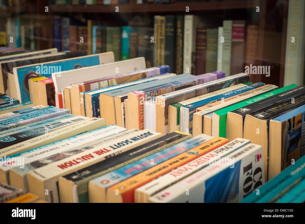 secondhand books Stock Photo