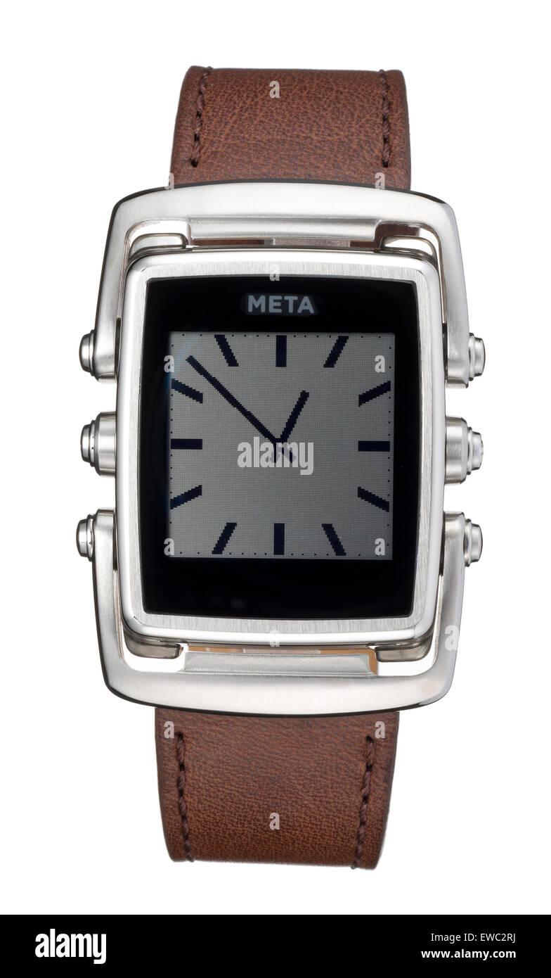Meta M1 smartwatch - Stock Image