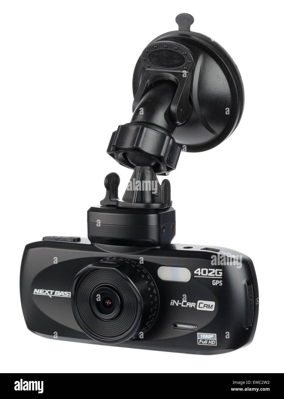 Nextbase in car cam 402-G Professional camera. Record video whilst driving. Dashboard or windscreen mounted video - Stock Image