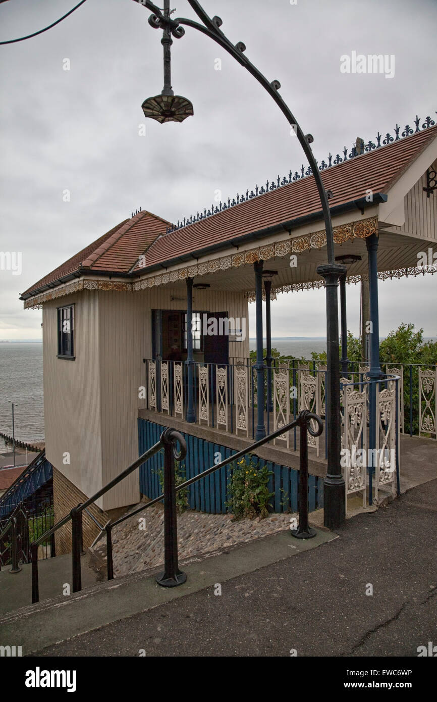 Old Cliff Lift at Westcliff-on-Sea Stock Photo