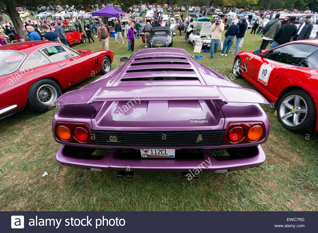 Lamborghini Diablo 30 at the 2014 Rockville Antique & Classic Car ...