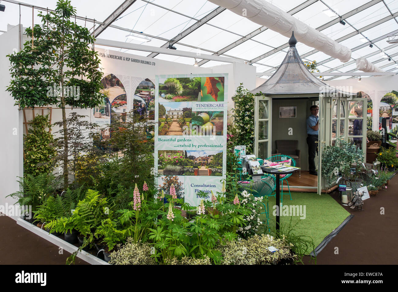 Grow London Show Hampstead Tendercare Garden Design Exhibition Stand