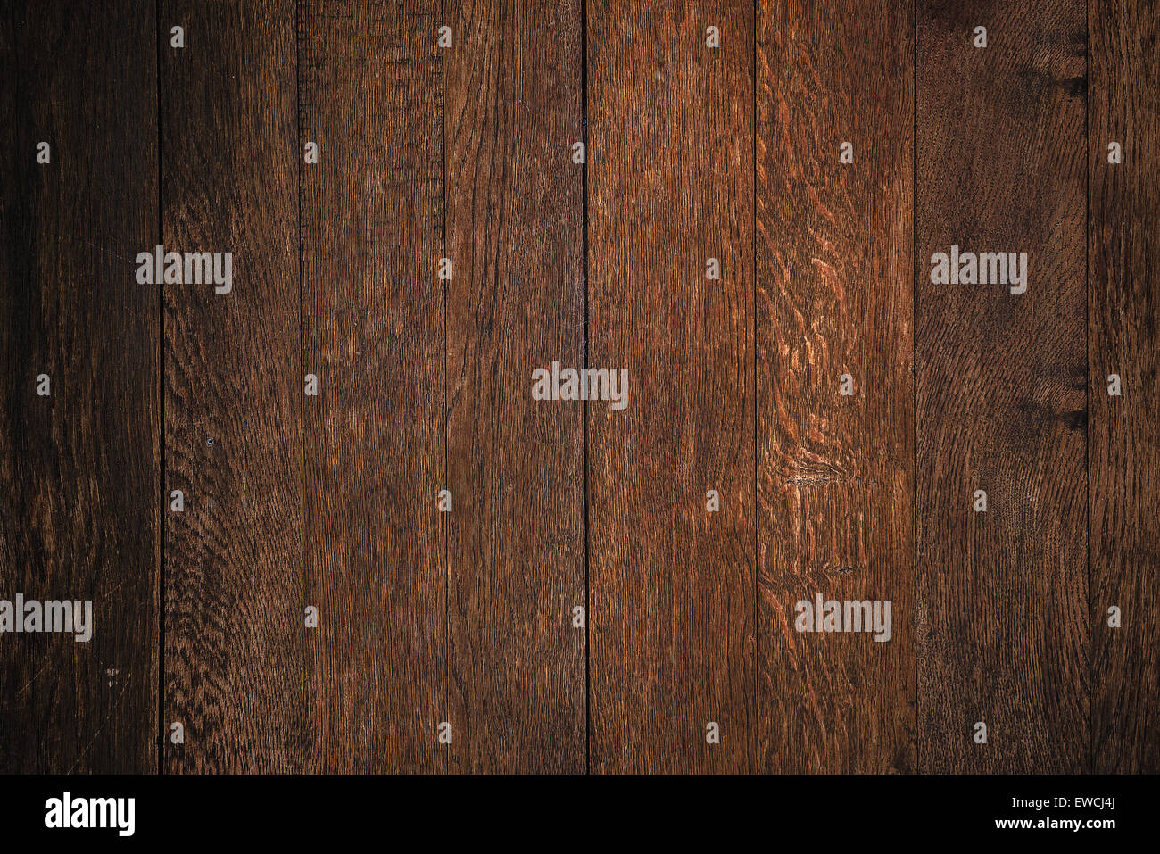 Brown Wood Planks Texture Pattern as Background - Stock Image