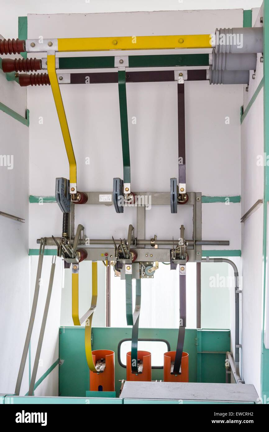 Electric Connection Lines  Feeder Terminal Inside