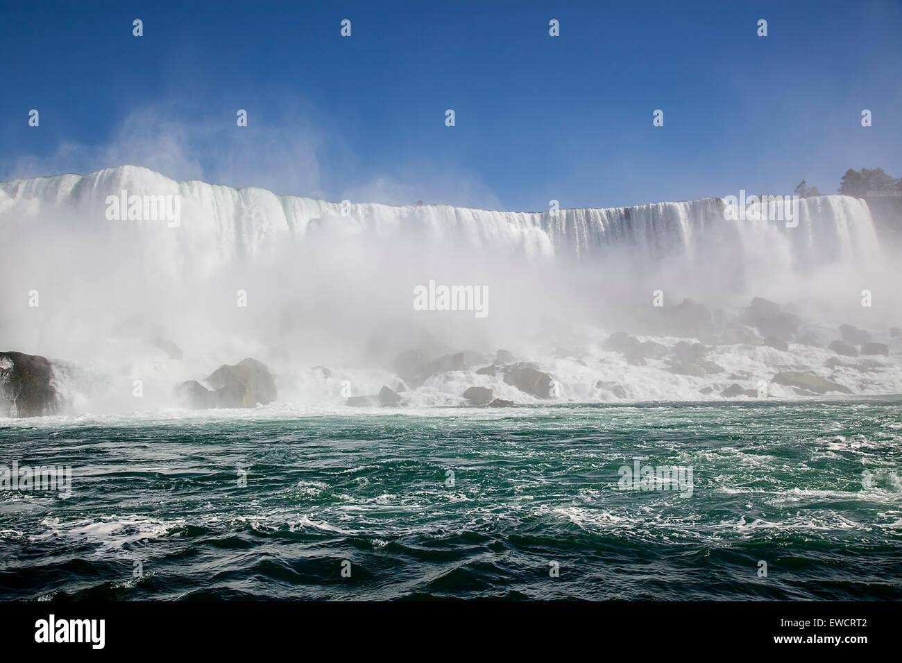 Niagara waterfalls in Toronto,Canada. - Stock Image