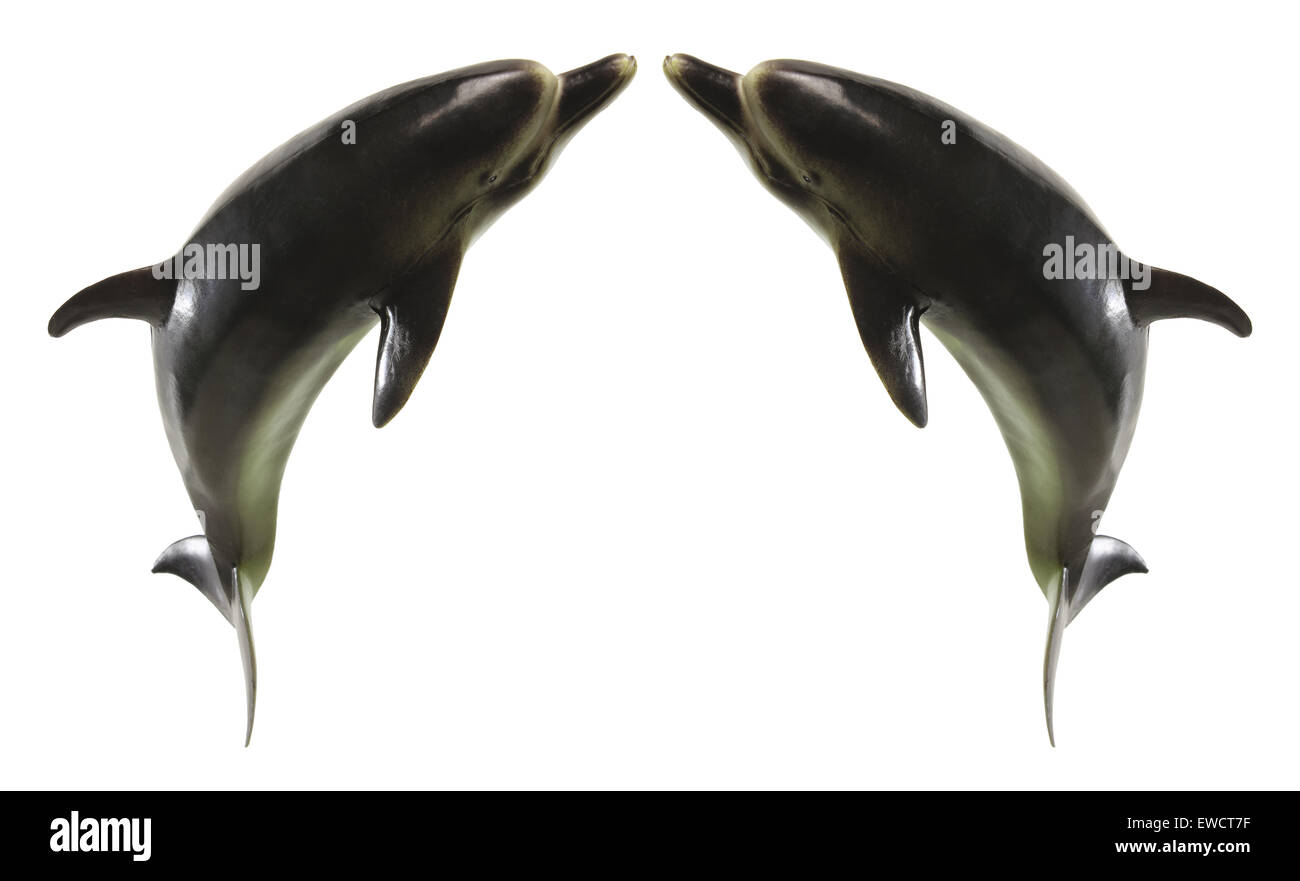 Dolphin Figurines - Stock Image