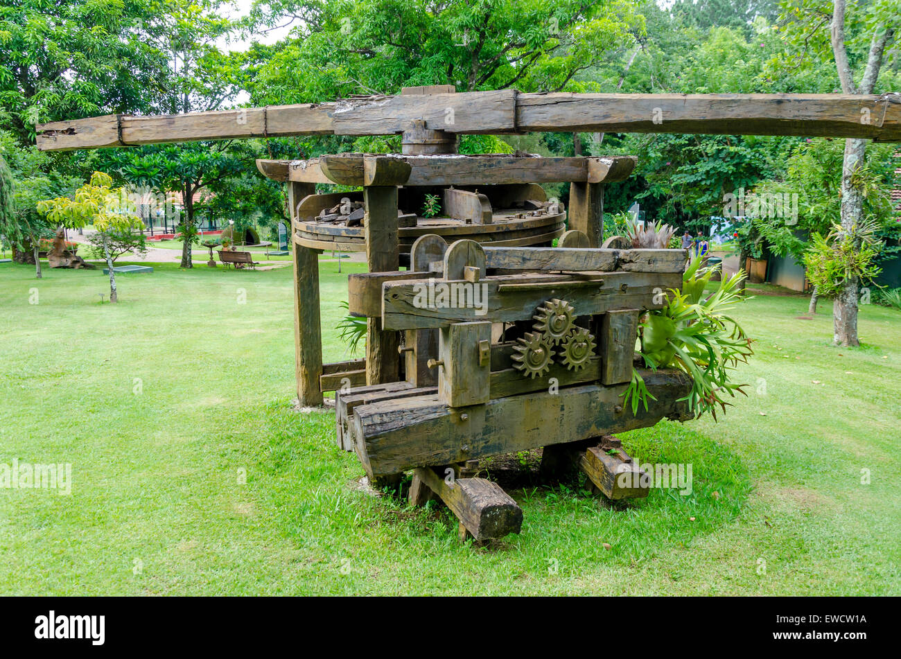 Sugar cane mill - Stock Image