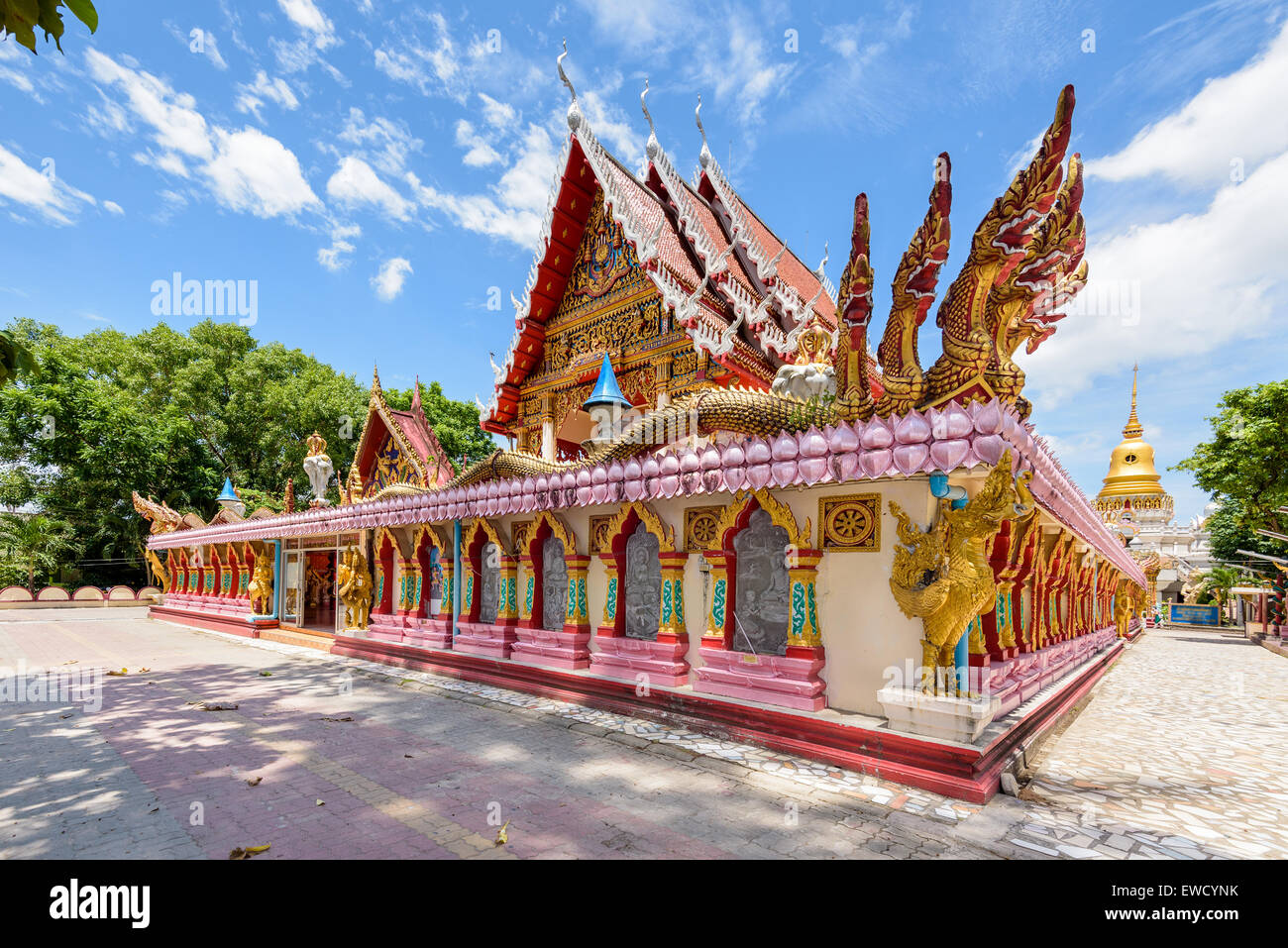 Wat Phra Nang Sang Temple attractions and place of worship in Phuket Province, Thailand Stock Photo