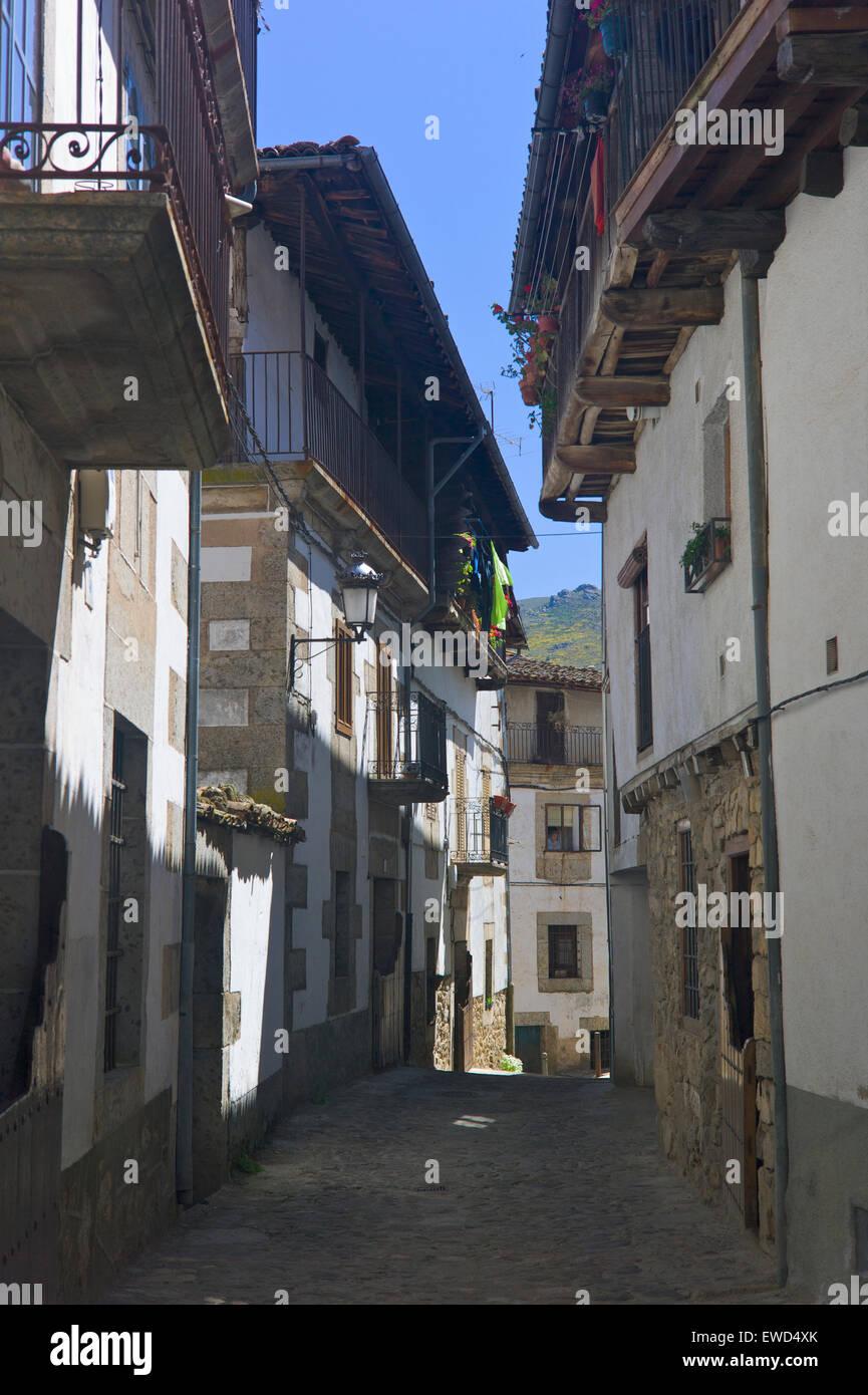 Candelario, Castilla y Leon, Spain - Stock Image