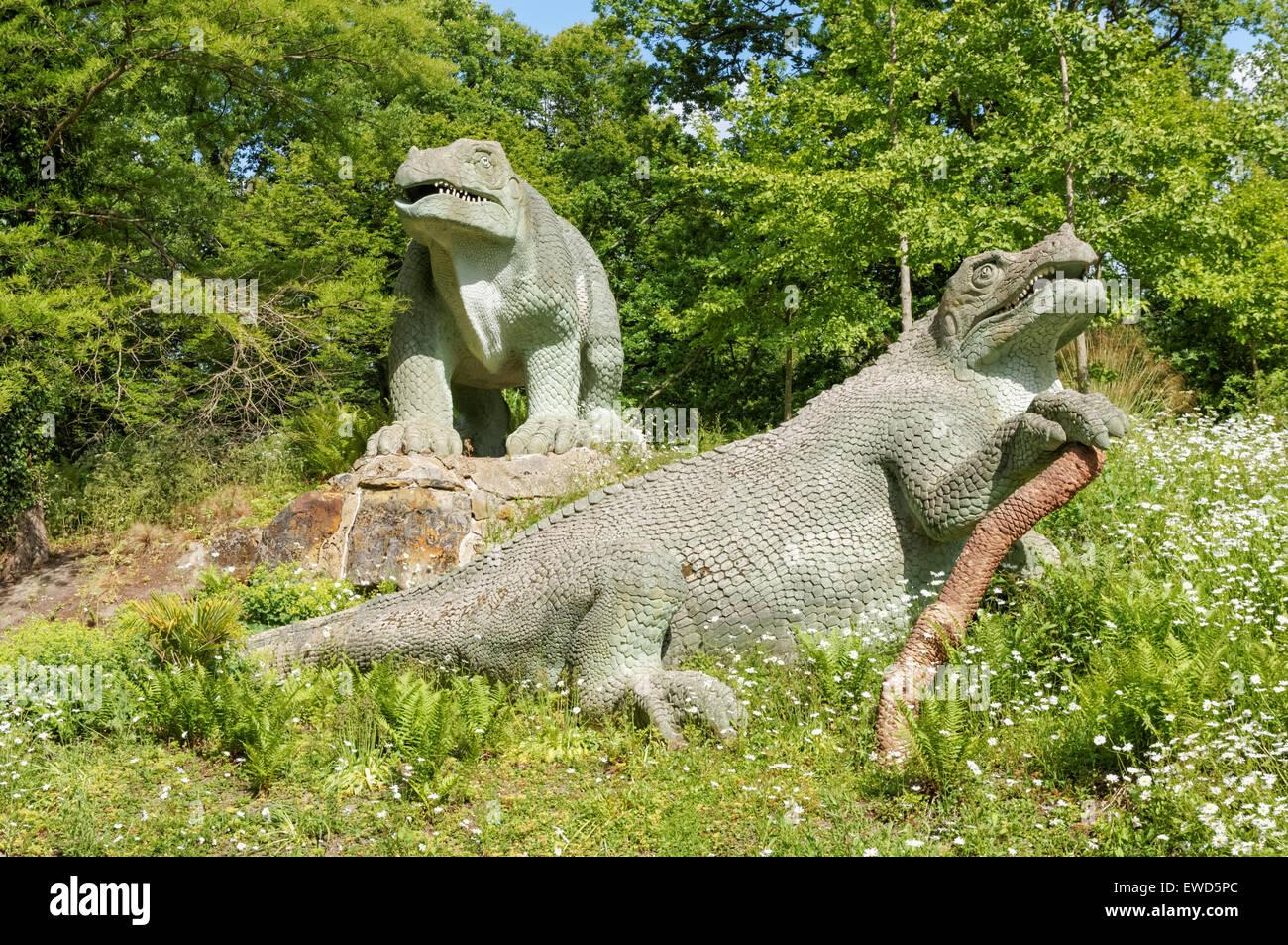 Crystal Palace Park, London England United Kingdom UK Stock Photo